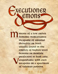 Executioner Demon by Charmed-BOS