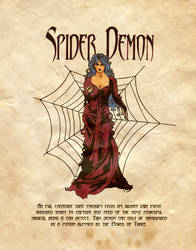Spider Demon by Charmed-BOS