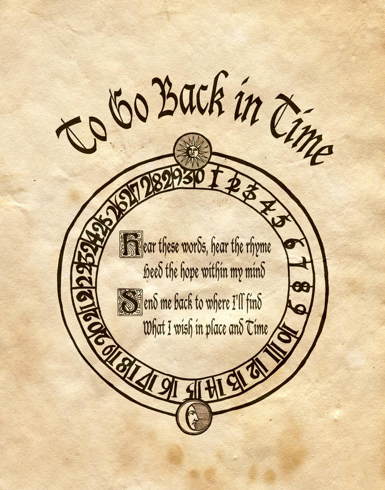 Travel Back In Time Spell