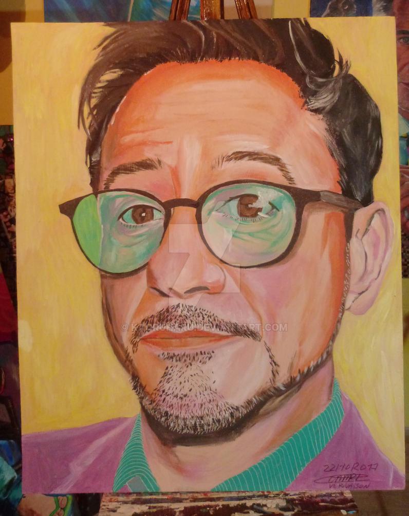 Robert Downey jr V10 by kaoruharu