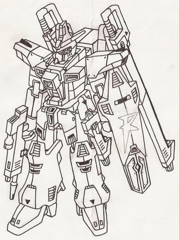 Godsend Gundam by RaishaGS