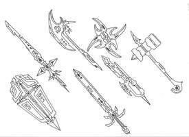 Mystical Weapons pt 1