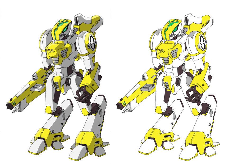 Sentinal Prototype -Coloured- by RaishaGS