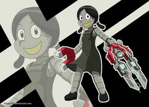 Original Character Showcase - Robotgirl