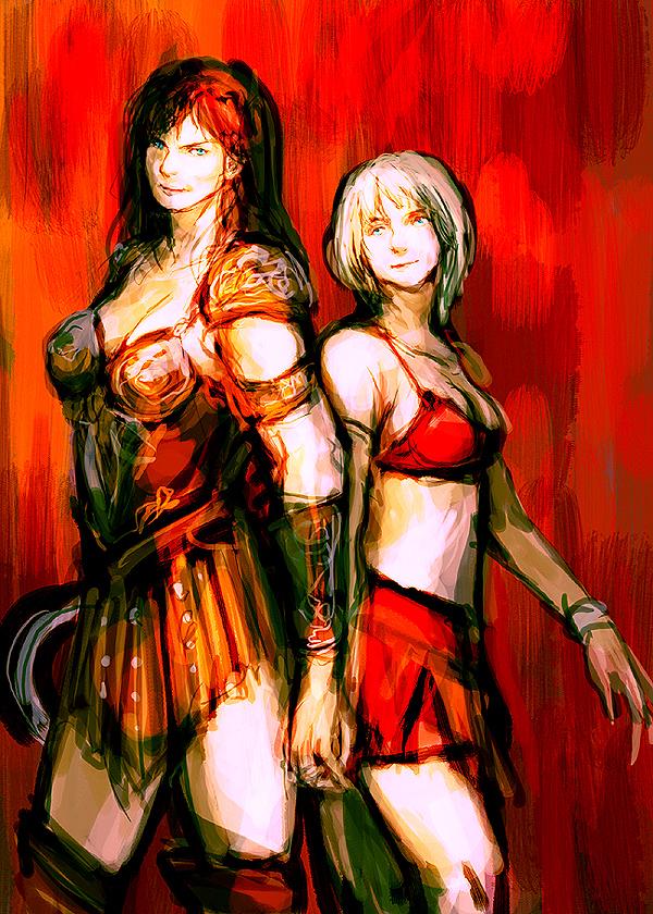 xena: warrior princess by izb13