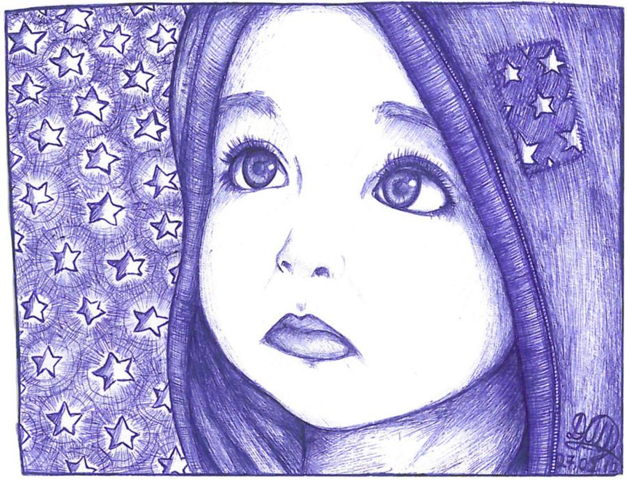 Girl and Star by Shinnynyanya
