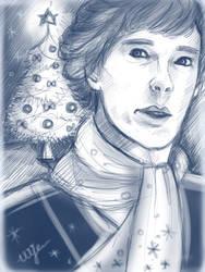 Christmas Sherlock) by Shinnynyanya