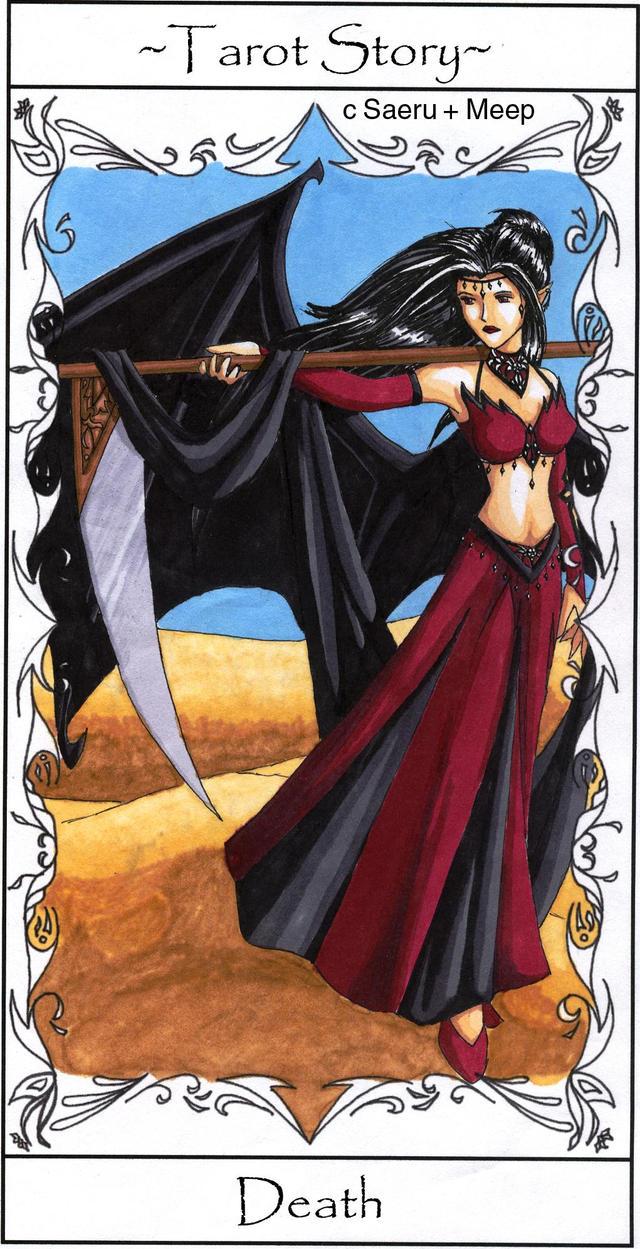Death Tarot Card by saeru