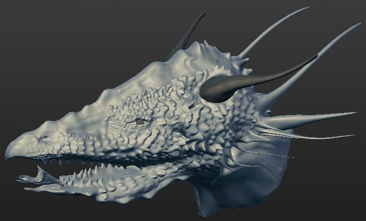 Splitjaw dragon by Seitira