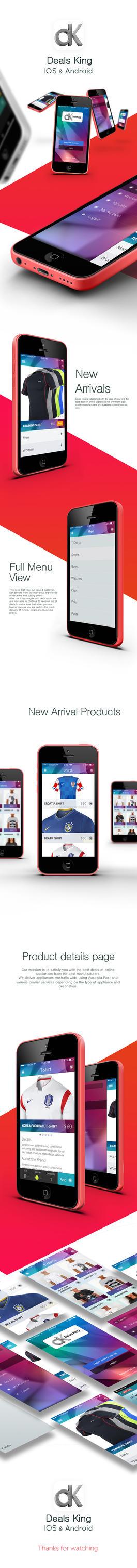 Online store mobile app design by fahadaman91 on deviantart for Shop mobili online
