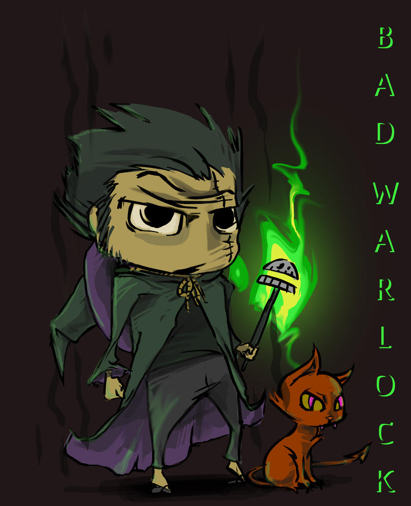Bad Warlock by chitototoy