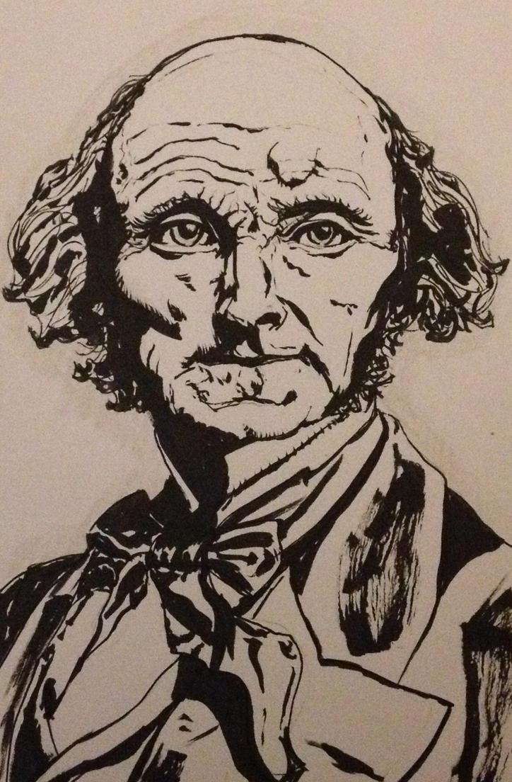 John Stuart Mill by Horological-Rex