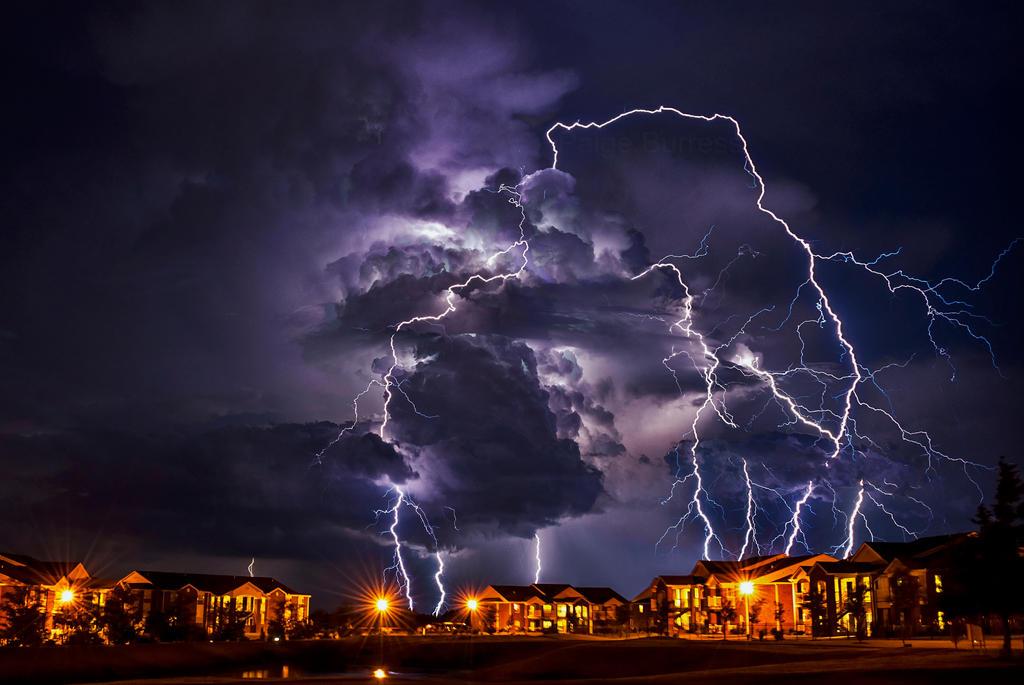 Raining Lightning by PaigeBurress