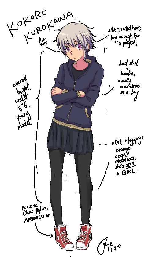 Drrr: Kurokawa Kokoro by YukiYijiKusakabe