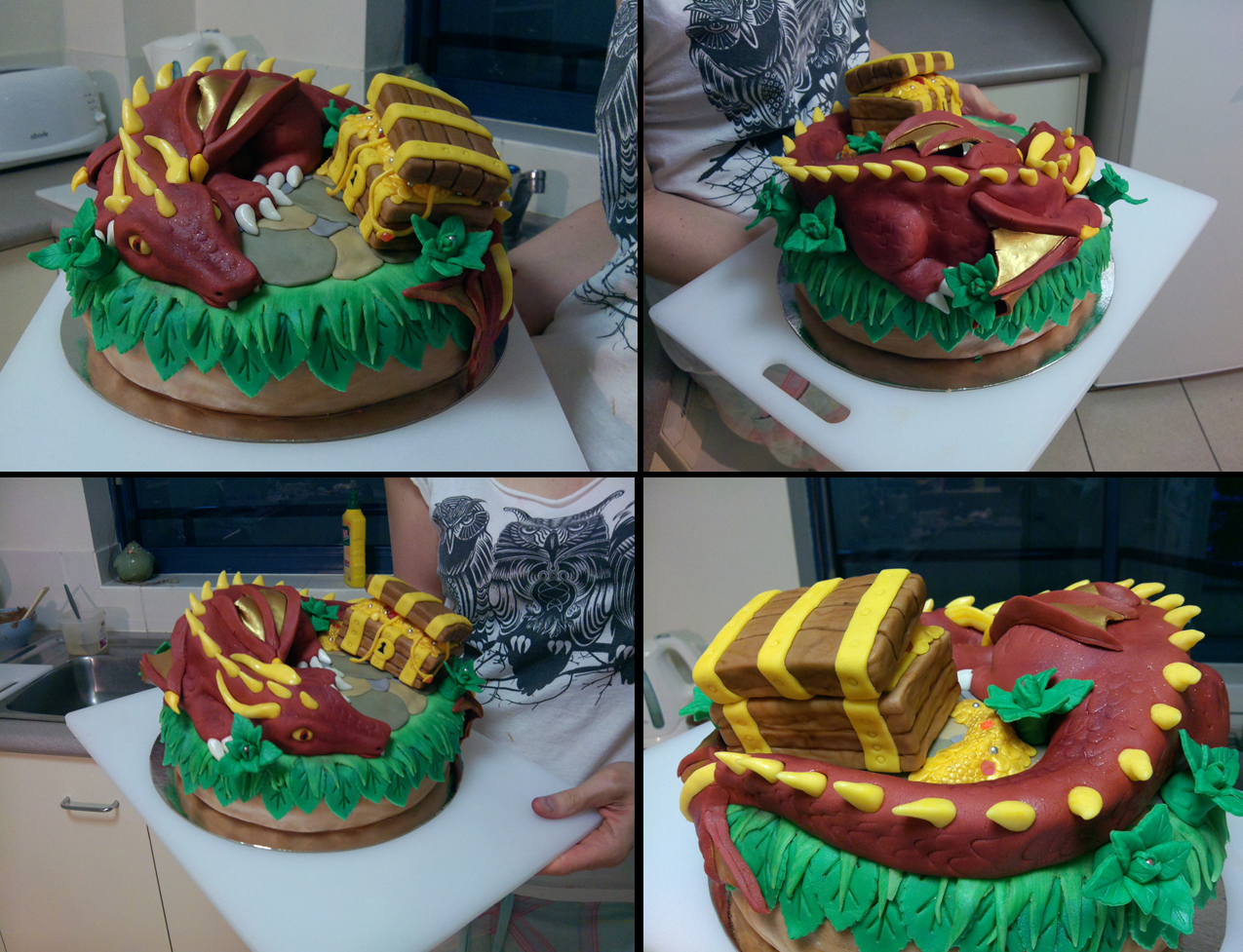 Dragon cake by Resident-Jade