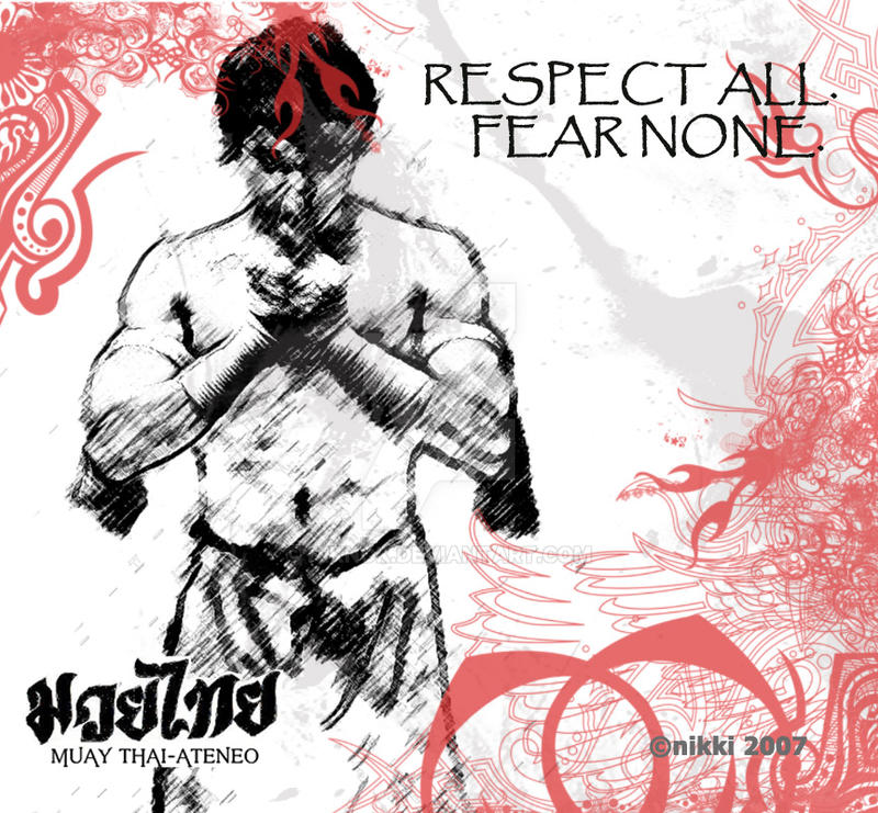 Respect All Fear None By Niknok On Deviantart
