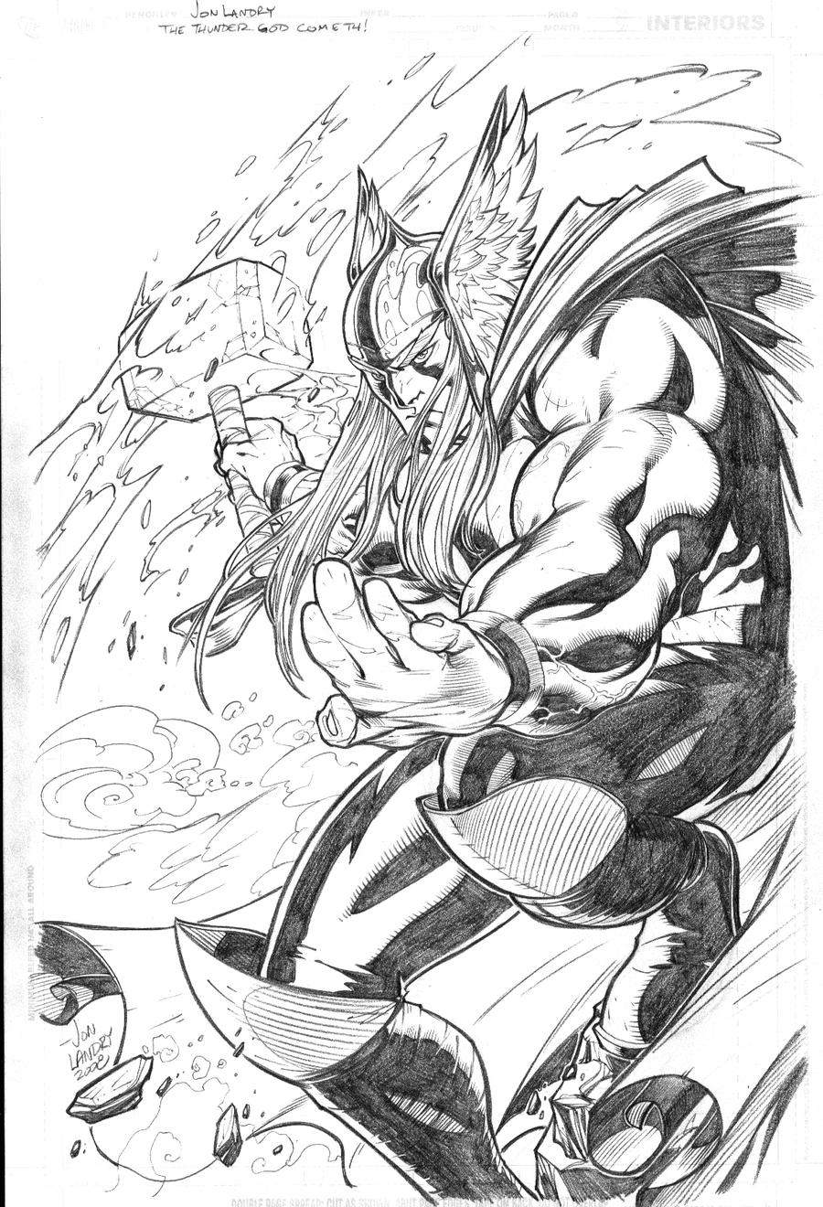 "Thor ""The Mighty"" Odinson by jpm1023"