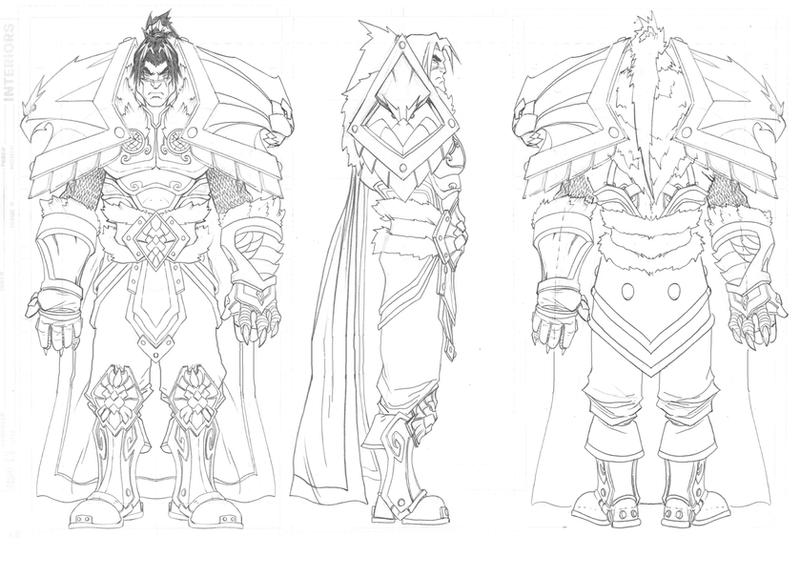Character Design: Varian Wrynn by jpm1023