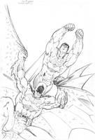 Superman Batman ACTION by jpm1023