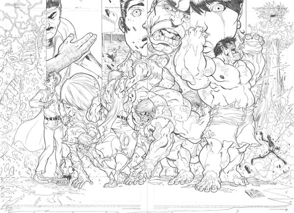 HULK TRANSFORMATION Pg2and3 By Jpm1023