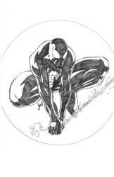 Commission: Symbiote Spidey by jpm1023