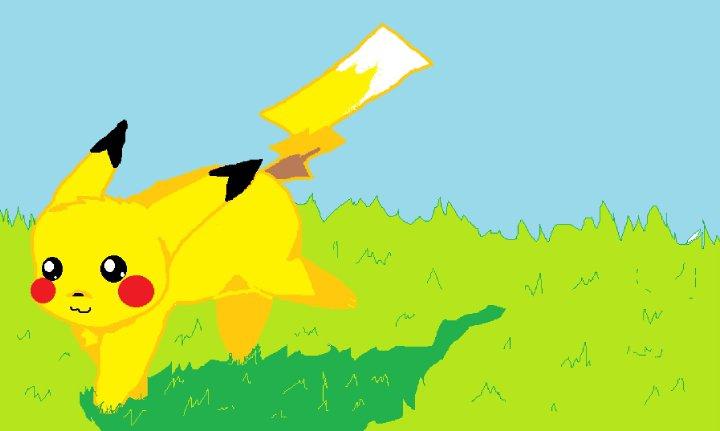 Pikachu by glowingXobsession