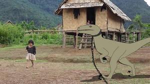Jurassic Aftermath: Velociraptor Guard