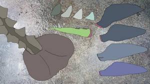 Jurassic Aftermath: De-extinct Culinary Trade