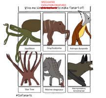 Six Speculative Creatures