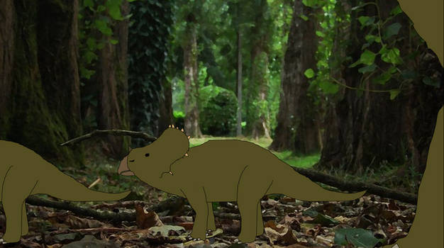 Jurassic Aftermath (Sinoceratops Feral)