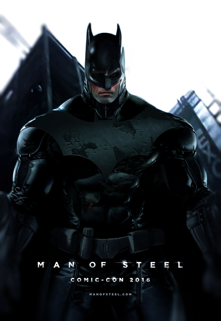 Man Of Steel 2 Batman Costume MAN OF STEEL 2 - BATMA...