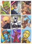 Star Wars Galaxies Sketch Cards 3