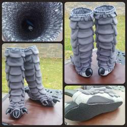 Grey Bird Legs