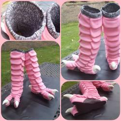 Pidgey legs