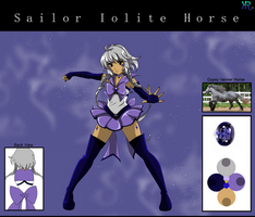 Sailor Iolite Horse by HatterRose