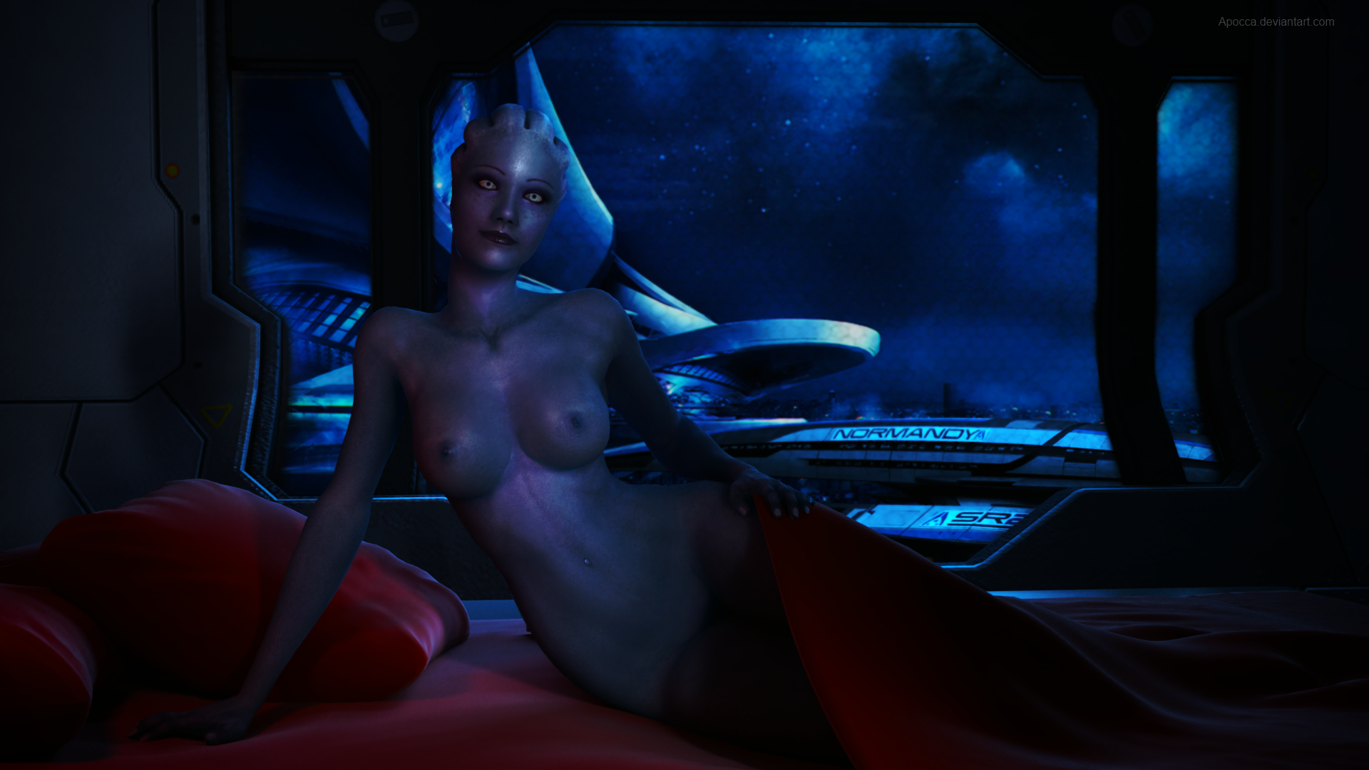 Naked pictures of liara in mass effect cartoon pictures