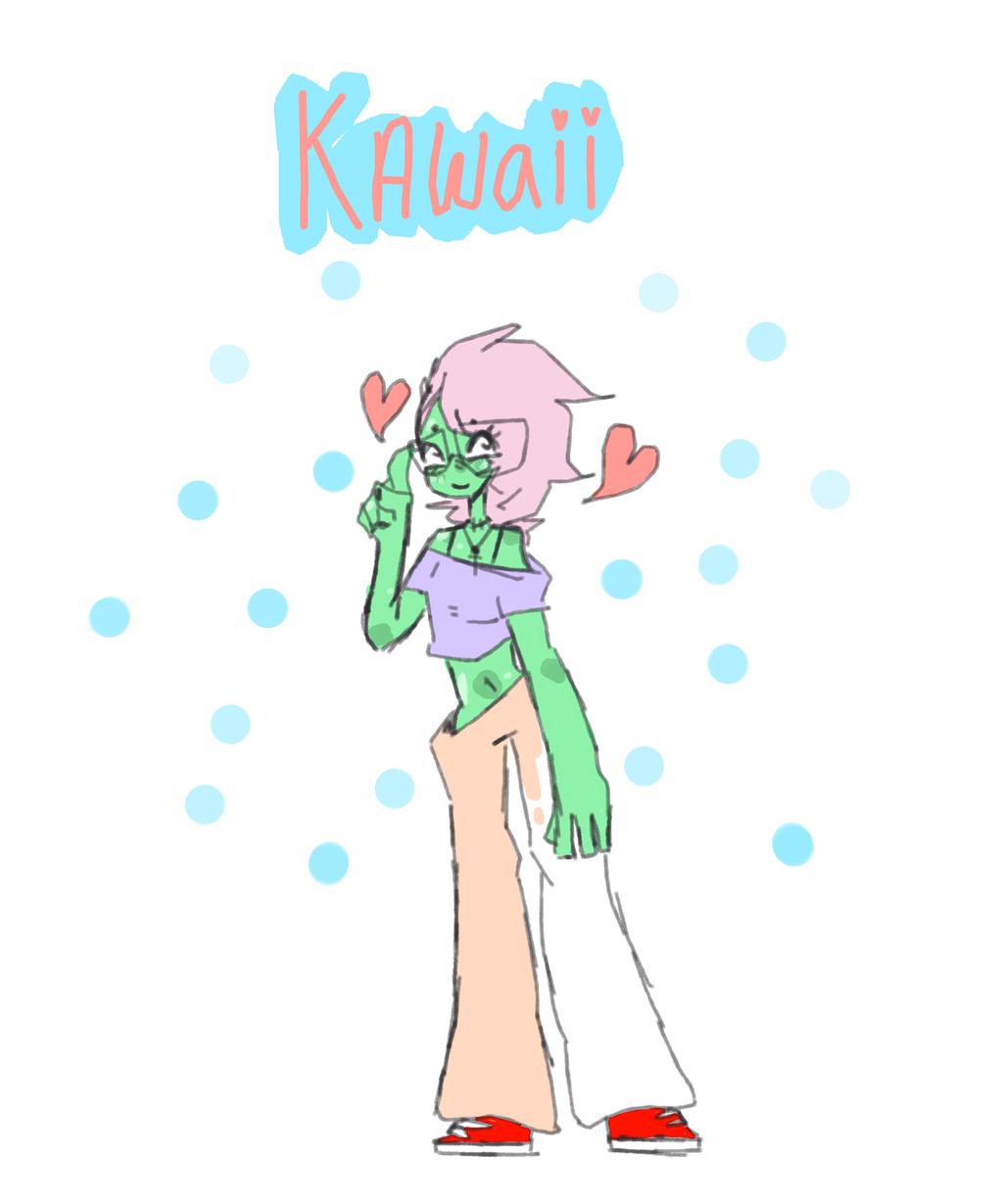 Kawai Zombie by 0Xdeni
