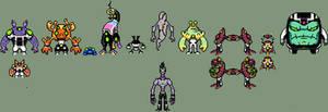 My ben 10 AU thing: starter aliens.