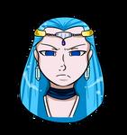 Aquarius headshot by Ethril-Dragon