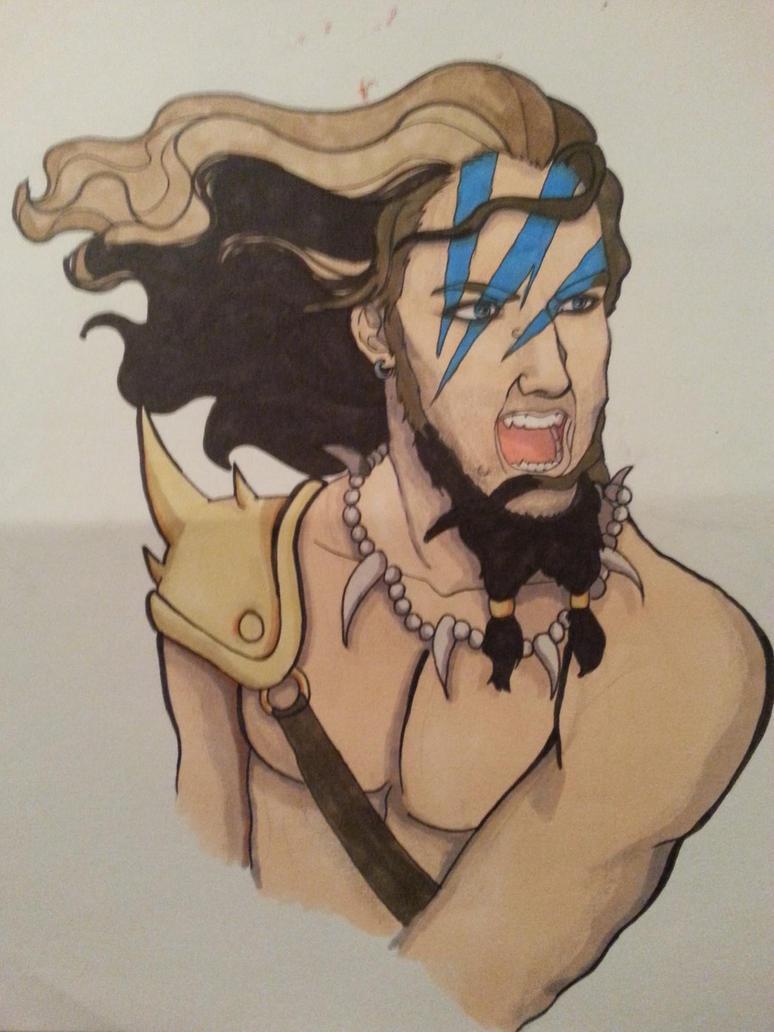 Barbarian by Midori-Valentine