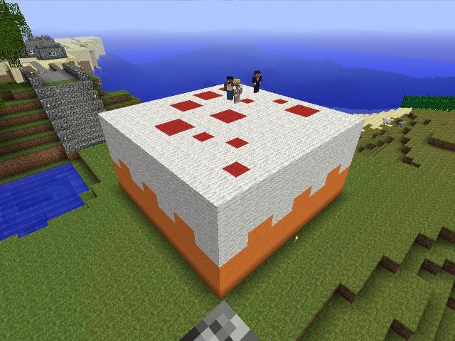 Cake Pixel Art Minecraft : MineCraft Cake by FreakyYesIAm on DeviantArt