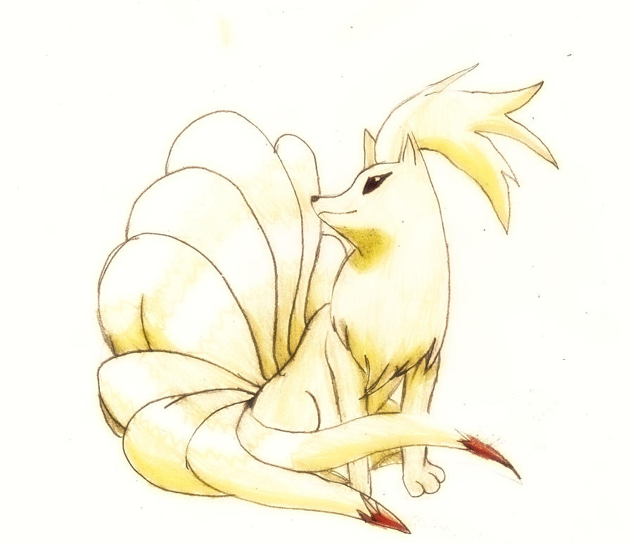 How To Draw Ninetales Pokemon