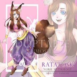 Taimosu 7 Adoptble : Ratatosk