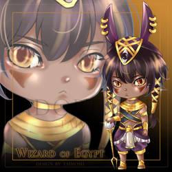 Taimosu 9 Adoptble : Egypt Wizard