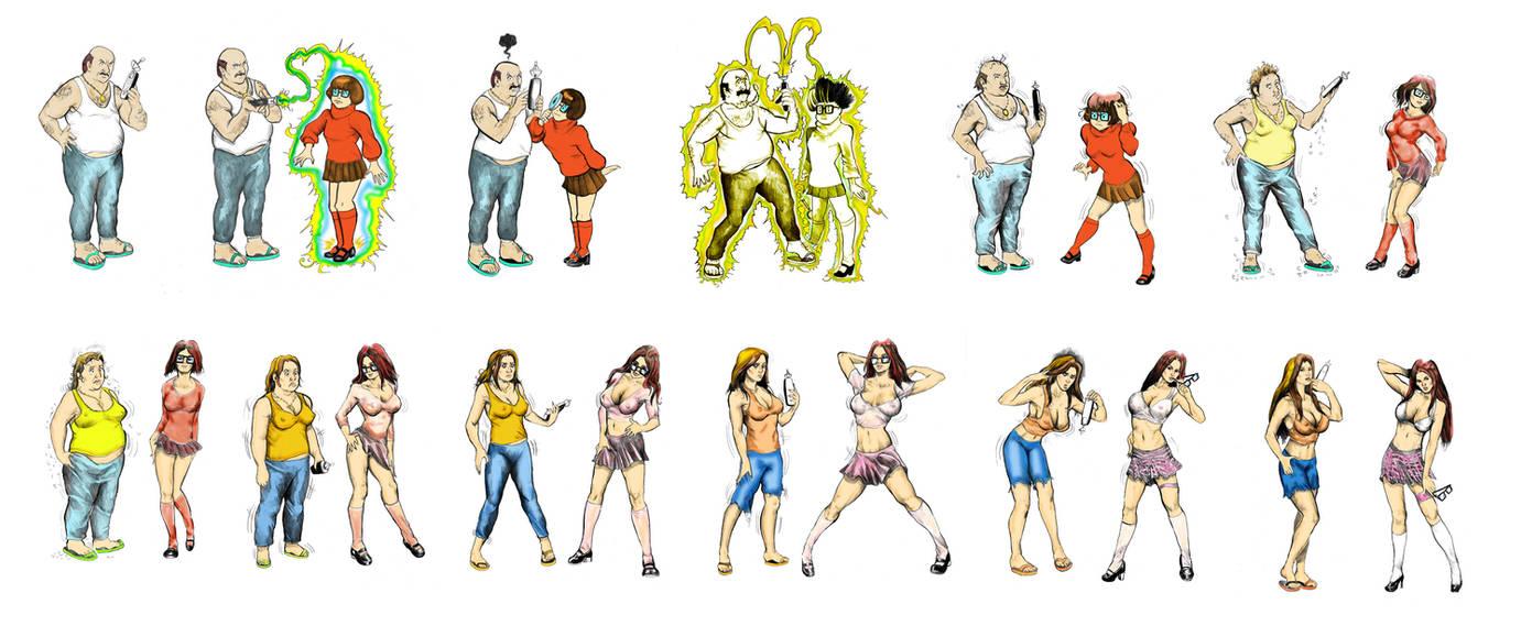 transformation porn games
