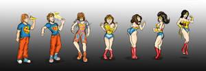 Wonder Woman TG Color