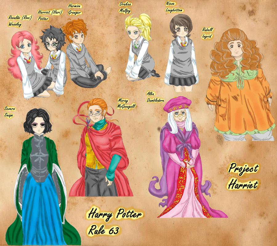 HP Genderbender Color by Kimbawest