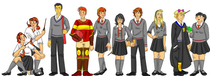 Harriet Potter and the Gender Swap Hex Cl