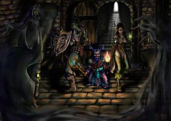 Wraiths of the Asylum -- Ascendant Destiny by MaddieMunnMakes