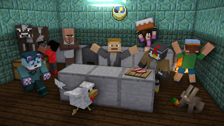 Minecraft's Heptic Kitchen